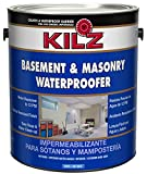 Product Image of the KILZ Interior/Exterior Basement and Masonry Waterproofing Paint, White, 1-gallon