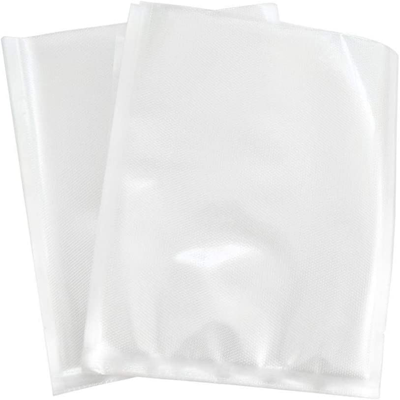 XINGJIJIJIA Plastique 100pcs / Paquet Vide Scellant Sac Food Saver Emballage Sacs d'emballage Sacs à Vide for l'alimentation 12-35CM récipient (Color : 28x35) 28x35