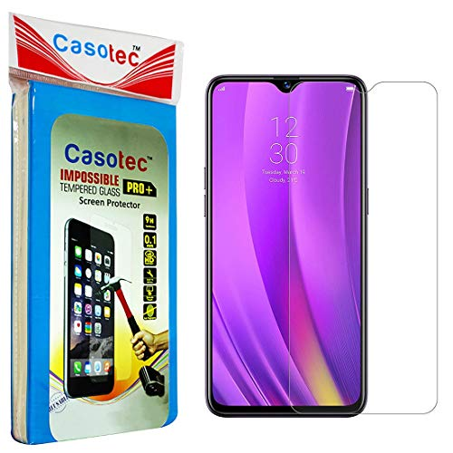 Casotec Hammer Proof Impossible Film Screen Protector [Not a Tempered Glass] Screen Guard for Realme 3 Pro