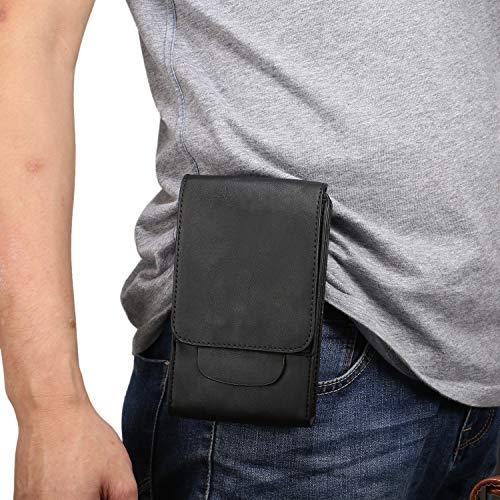 Funda del teléfono celular Teléfono celular del cuero de la pistolera con lazo de la correa del caso for Samsung Galaxy Note 10+, la Nota 10 Lite, S10 Lite, S10, S10 Plus, J4 +, + S9, S8 +, + S7edge,
