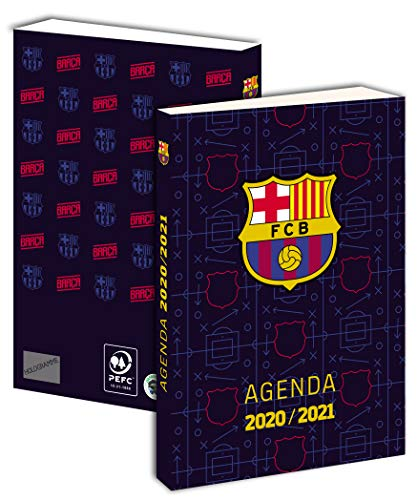 Agenda Scolaire Barça 2020 2021 - Collection Officielle Fc Barcelone
