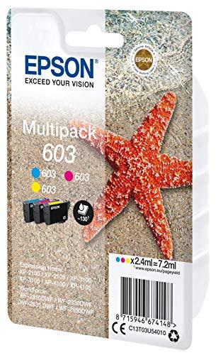 Epson C13T03U54010 Adecuado para XP2100 Tinta Color Nr.603 7,2ml