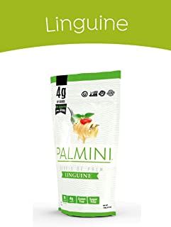 Palmini Low Carb Pasta | 4g of Carbs | As Seen On Shark Tank | Gluten Free | 12 Oz. Pouch (1 Unit)