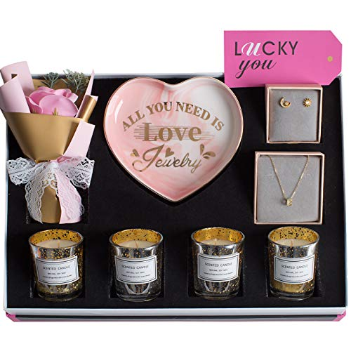 (50% OFF) Gift Set – Sterling Silver Jewelry Candles Heart Tray $14.99 – Coupon Code