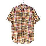 (スティーブンアラン) Steven alan マドラスチェック 半袖シャツ