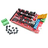HiLetgo RAMPS 1.4 Control Panel 3D Printer Control Board Reprap Control Board for Arduino Mega 2560