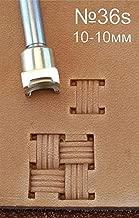 Handwerk Sattel #133 Totenkopf-Lederarbeitswerkzeuge Stempel Schnitzereien