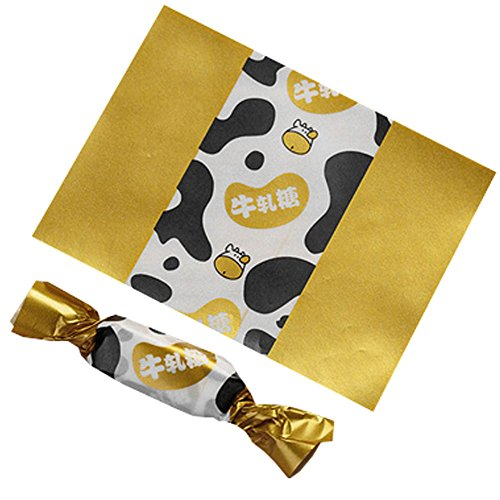 Review Wukong Direct 500PCS Candy Wrappers Caramel Wrappers Packaging Bags Twisting Wax Paper 9x12.5...