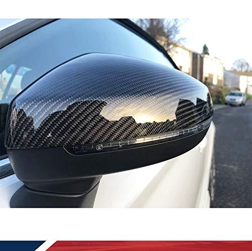 1Paar Ersatz Carbon Faser Auto Spiegel für A3/S3/RS38V 2014–2016