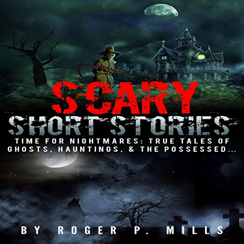 Scary Short Stories audiobook cover art