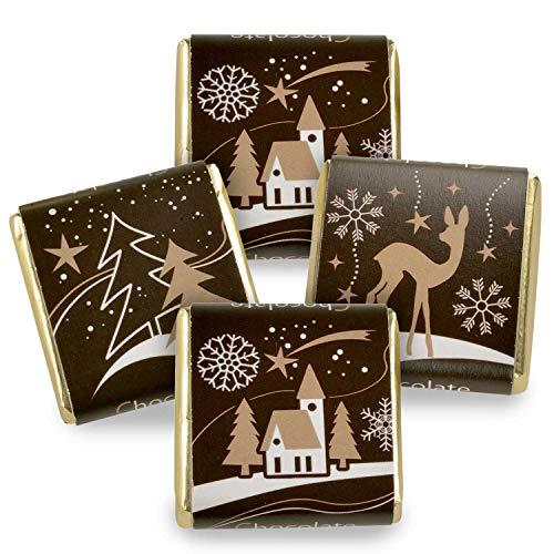 135 Stück Schokoladen-Nougat-Tafeln