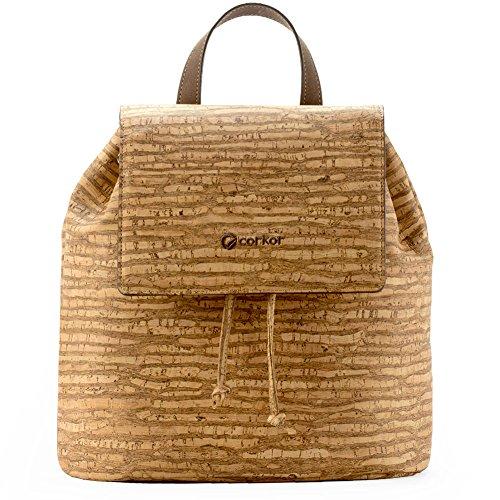 Vegan backpack purse