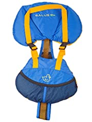 Winner of the Canadian Safe Boating Award (CASB) for Best New Safety Product Designed for babies 9 to 25 pounds (chest size 12 to 18 inches around). Adjustable mesh and webbing harness system for security, venting, and comfort Three piece collar desi...