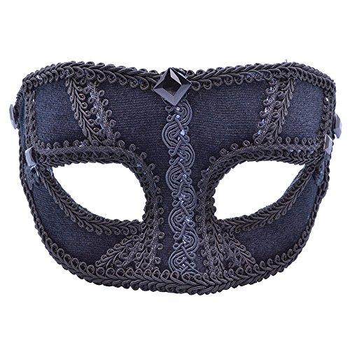 Black Velvet Mask (Masque/Visage)