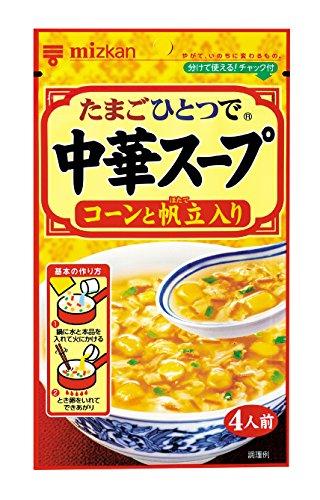 ミツカン 中華スープ コーンと帆立入り 37g×10袋