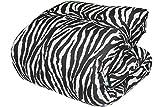 Russo Tessuti Trapunta Piumone Zebra Zebrata Bianco Nero Animalier Matrimoniale