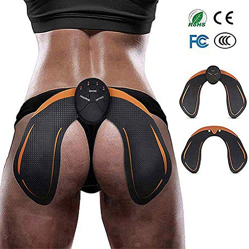 AILIDA Hips Trainer electroestimulador EMS Vibration Massage Electronic Intelligent Hip Trainer Buttocks Hip Trainer and Hip Toner Helps To Lift, Shape and Fix The Buttocks