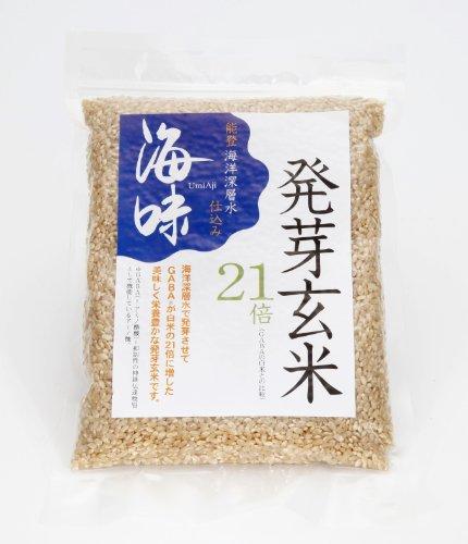 能登海洋深層水仕込み「海味」発芽玄米(500gx1袋)