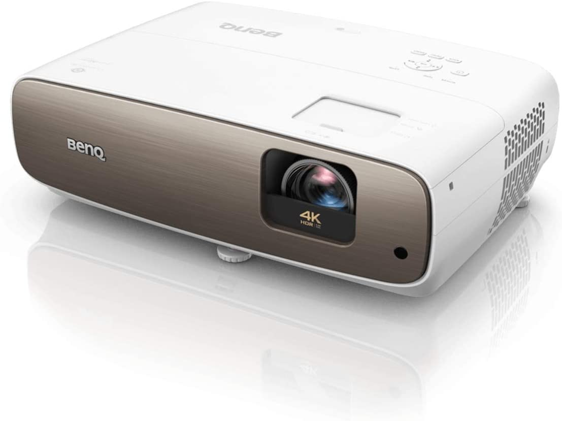 BenQ HT3550i True 4K Smart Home Theater Projector powered by Android TV - Google Play - Wireless Projection - HDR-PRO - 95 percent DCI-P3, 100 percent Rec709 - Lens shift (Renewed)