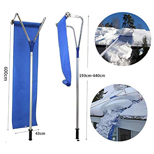 Affordable Anonca Roof Snow Removal Tool Snow Roof Rake Adjustable 20 Ft Easy to Use Snow Brush Tele...