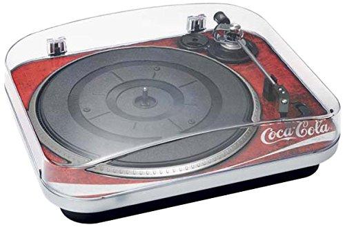 BigBen AU329704 Coca Cola Plattenspieler