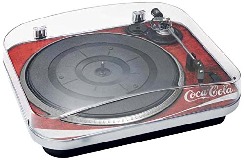 BigBen TD120 - Tocadiscos, diseño Coca Cola