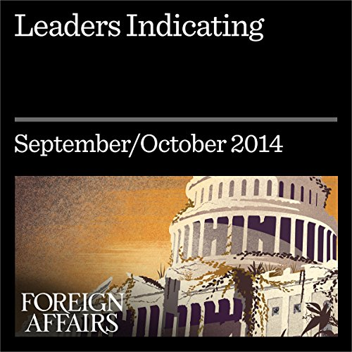 Leaders Indicating Audiobook By Ruchir Sharma cover art