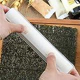 6pcs / set japonesa Sushi Roll arrocera de moldes de cocina Herramientas Sushi fabricante de bicarbonato de Sushi fabricante Kit Rice rodillo de molde