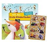 Sing mal (Soundbuch): Erste Kinderlieder (Pappbilderbuch + Kindersticker, ab 2 Jahren
