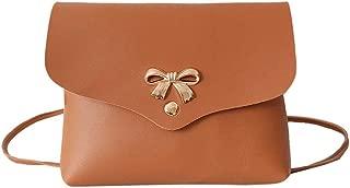 Everpert Women Bowknot Shoulder Bag Pu Crossbody Bags