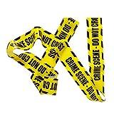 Widmann- Barricade Tape Nastro Barricata Crime Scene, Do Not Cross per Adulti, Giallo, Taglia unica, 51895
