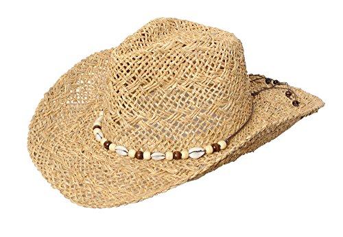Miuno Miuno® Herren Cowboy Hut Strohhut H51004