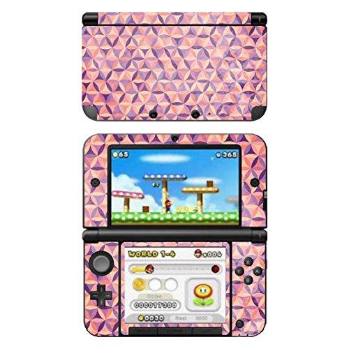Disagu SF-104164_1224 Design Schutzfolie für Nintendo 3DS XL Motiv Buntes Muster 01
