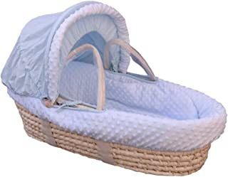 YXGH@ Newborn Baby Moses Basket Sleeping Basket Portable Baby Out-of-Car Basket-Type Safety Baby Basket Cradle Bed Straw Basket Crib for 0-6-9 Months