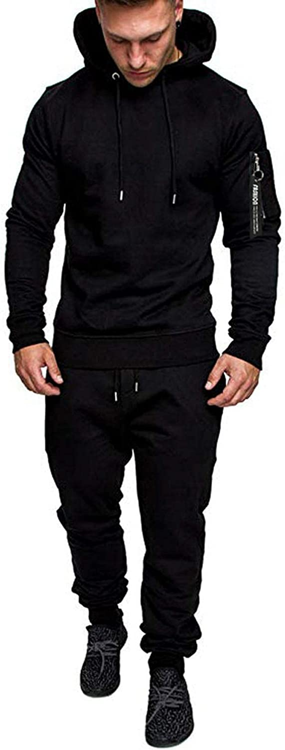 Aayomet Tracksuit Zip up Camouflage Casual Hoodie Sweatshirt Pants Two Piece Sweatsuits Sports Outfits Suits for Men