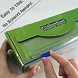 25 cm e 50 Sacchetti 20 30 cm Sacchetti per Sottovuoto per la Conservazione Sottovuoto Alimenti KitchenBoss Sottovuoto Sacchetti Alimenti 50 Sacchetti 15