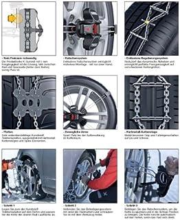 Thule Schneeketten K Summit für die Reifengröße 285/30 R21   die exklusive und leicht zu montierende Schneekette für Personenkraftwagen