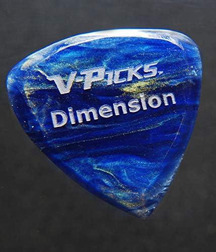 Guitar pick dimension