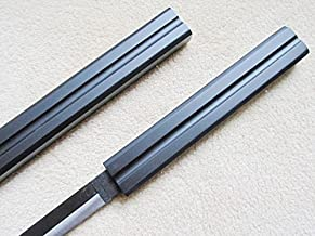 AIT Collectibles S1606 Anime Naruto Sasuke Kusanagi NO TSURUGI Center Groove Sword Solid Black OR White 40