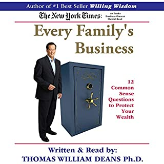 Every Family's Business: 12 Common Sense Questions to Protect Your Wealth audiobook cover art