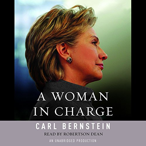 A Woman in Charge audiobook cover art