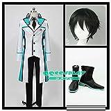 コスプレ衣装+ウイッグ+靴 魔法科高校の劣等生 司波 達也 cosplay