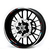 for BMW S1000RR 2009-18 Motorcycle 3M Rims Tape Wheel Rim Decal Stripes Sticker