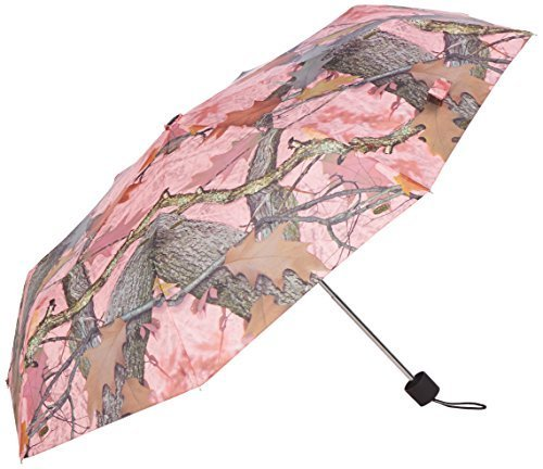 Rivers Edge Products Compact Folding Umbrella, 42-inch, Pink Camouflage by Rivers Edge Products