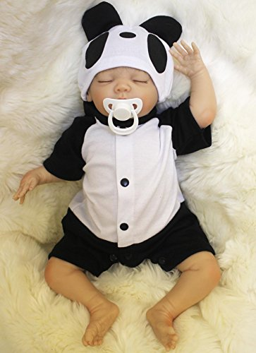 Wamdoll 18 inch Rare Alive Sleepy Silicone Reborn Baby Dolls Feel Real,May God Bless You