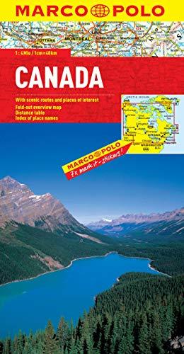 Canada Marco Polo Map (Marco Polo Maps) [Idioma Inglés]