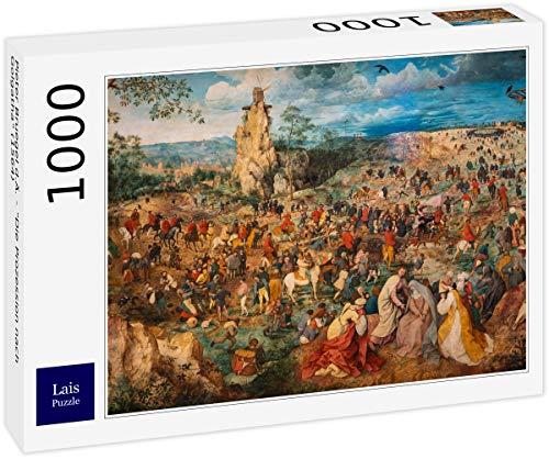 Lais Puzzle Pieter Bruegel d.Ä. - Die Prozession nach Golgatha (1564) 1000 Teile