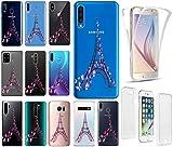 KX-Mobile Hülle für iPhone 6 / 6s Handyhülle Motiv 2383 Paris Eifelturm Frankreich Premium 360 Grad Fullbody Softcase HandyCover Schutzhülle Handyhülle für iPhone 6 / 6s Hülle