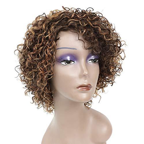 African american short human hair wigs _image4