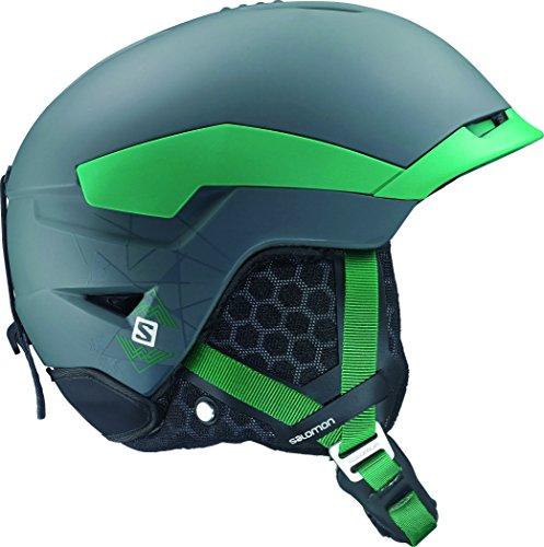 Salomon Quest Ski-Helme, Grün L (59-62cm) Grau